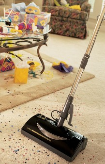 Ana Cleaning Vacuuming